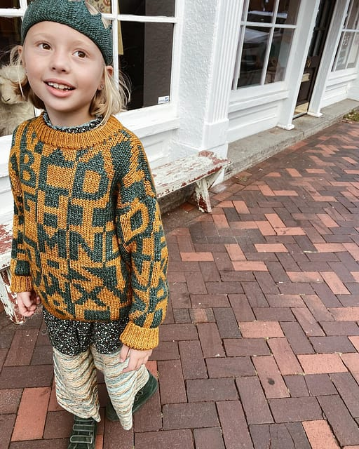 It is a special joy when my daughter loves the clothes :) Her favorite color of the collection is peacock. She said: I love how everything looks good together. I feel so cute and cozy.  Xoxox